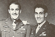 Author photo. Johnny Godfrey (left) with Don Gentile. <a href=&quot;http://farm4.static.flickr.com/3405/3572515303_f72dd4ff37.jpg&quot;>Official U.S. Air Force photo</a>