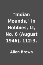 Indian Mounds, in Hobbies, LI, No. 6…