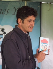 Author photo. reading at the Gaithersburg Book Festival By Slowking4 - Own work, GFDL 1.2, <a href=&quot;//commons.wikimedia.org/w/index.php?curid=48948362&quot; rel=&quot;nofollow&quot; target=&quot;_top&quot;>https://commons.wikimedia.org/w/index.php?curid=48948362</a>