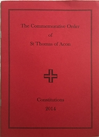 The Commemorative Order of St Thomas of Acon…