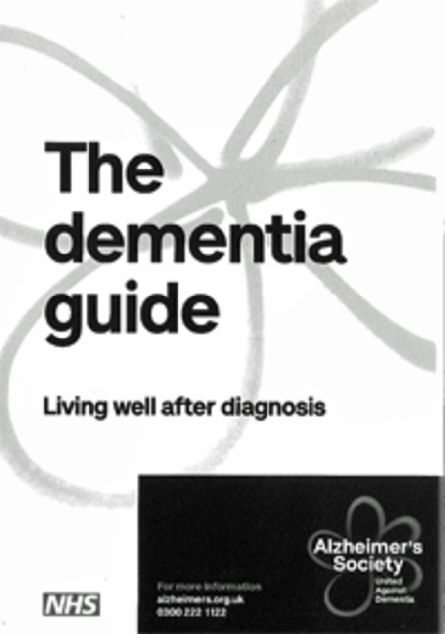 The Dementia Guide: Living well after diagnosis
