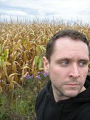 Author photo. Photograph of author Christopher Barzak, taken in Kinsman, Ohio [credit: Christopher Barzak]