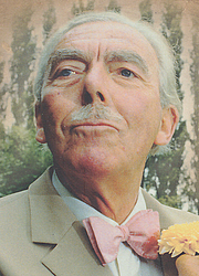 Author photo. Cropped image from the front cover of Muir's autobiography, <i>A Kentish Lad</i>, published by Bantam Press. Photo attributed to Ian Bradshaw.
