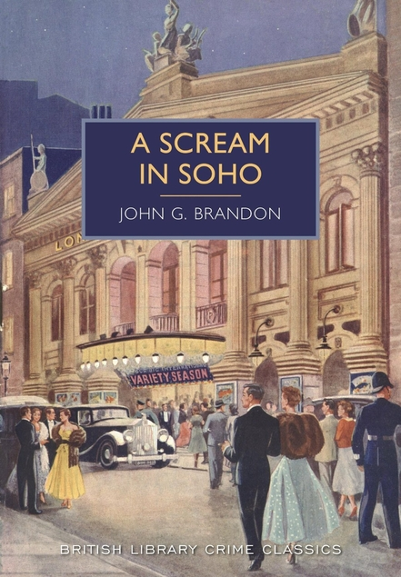 A Scream in Soho cover