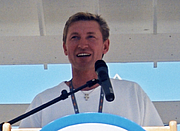 """Author photo. Wikimedia Commons user <a href=""""http://commons.wikimedia.org/wiki/User:Kmf164"""">Kmf164</a> (2001). Cropped."""