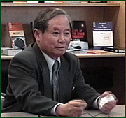 Author photo. Syun-Ichi Akasofu [credit: University of Alaska Fairbanks]