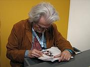 Author photo. P. E. Serpieri at Comicon 2007 (by Malaussene)