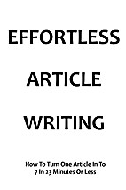 Effortless Article Writing: How to Turn One…