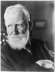 Author photo. George Bernard Shaw (1856-1950) (Library of Congress Prints and Photographs Division)