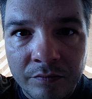 Author photo. self portrait of Charles W. Jones