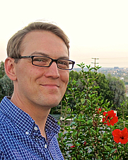 Author photo. Photograph taken by Andrew van der Vlies