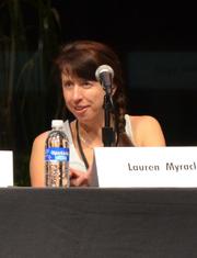 Author photo. Lauren Myracle