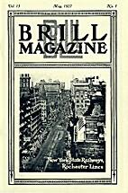 Brill Magazine, vol. 13, n° 1 - May 1927 by…