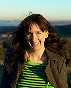 """Author photo. Jane McKie, author of """"When the Sun Turns Green"""""""