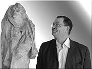Author photo. Gérard Huber en octobre 2009 lors d'un entretien avec le journal Libération et la sortie d'un livre sur Freud