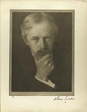 """Author photo. Photo by Alvin Langdon Coburn.  Courtesy of the <a href=""""http://digitalgallery.nypl.org/nypldigital/dgkeysearchdetail.cfm?trg=1&strucID=301405&imageID=483412"""">NYPL Digital Gallery</a>  (image use requires permission from the New York Public Library)"""