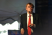 """Author photo. Garrison Keillor Poetry Reading Taken at the 2011 National Book Festival in Washington DC. Photo by ideonexus. By Ryan Somma - <a href=""""https://www.flickr.com/photos/ideonexus/6190507095"""" rel=""""nofollow"""" target=""""_top"""">https://www.flickr.com/photos/ideonexus/6190507095</a>, CC BY 2.0, <a href=""""https://commons.wikimedia.org/w/index.php?curid=33740478"""" rel=""""nofollow"""" target=""""_top"""">https://commons.wikimedia.org/w/index.php?curid=33740478</a>"""