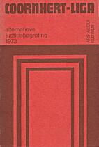 Alternatieve justitiebegroting 1973 by P.H.…