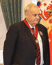 Author photo. Eldar Ryazanov, 2008 (by Kremlin.ru, CC BY 3.0)