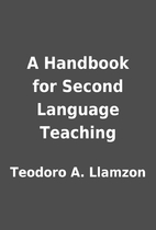 A Handbook for Second Language Teaching by…