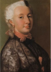 Author photo. Wilhelmine von Bayreuth in 1745 (Wikipedia)