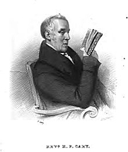 Author photo. Portrait by his son, Francis Stephen Cary