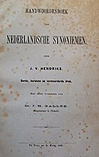 Handwoordenboek van Nederlandsche synoniemen…
