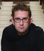 """Author photo. Stuart Rivans, author of """"Whisky Dream"""""""