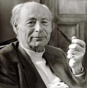 Author photo. Paul Tournier, (1898-1986) Médecin Suisse (Genève) Il à créé la Médecine de la Pesonne