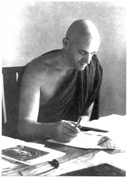 Author photo. Bhikkhu Ñāṇamoli