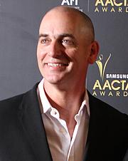 Author photo. Rob Sitch at the AACTA Awards Sydney, Australia, January 2012 [source: Eva Rinaldi via Wikipedia]