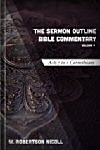 The Sermon Outline Bible Commentary, Vol. 9:…