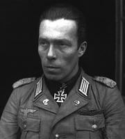 Author photo. World War II photograph