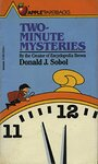 Two-Minute Mysteries by Donald J. Sobol