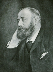 Author photo. Image from <b><i>Exits and entrances; a book of essays and sketches</i></b> (1903) by Charles Warren Stoddard