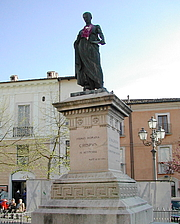 """Author photo. Statue of Sallust in L'Aquila By Freegiampi - Foto scattate da me, CC BY-SA 2.5, <a href=""""//commons.wikimedia.org/w/index.php?curid=1962822"""" rel=""""nofollow"""" target=""""_top"""">https://commons.wikimedia.org/w/index.php?curid=1962822</a>"""