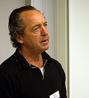 Author photo. Finn Hensner, Swedish Wikipedia