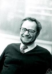 Author photo. Benno Artmann. Photo by Konrad Jacobs.