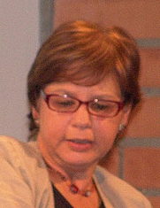 Author photo. Piedad Bonnett. Photo courtesy Universidad EAFIT.