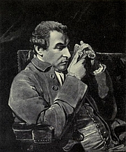 Author photo. Image from <b><i>Shakespeare in Italy</i></b> (1916) by Lacy Collison-Morley