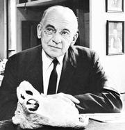 Author photo. Alfred Sherwood Romer, 1965