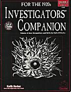 Investigator's Companion Volume II:…