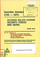 AS 1725 - 1975: Galvanized Rail-Less…