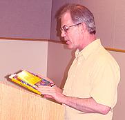 Author photo. Photo by Sheryl H. Eldridge, Newport Oregon Public Library
