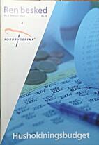 Husholdningsbudget by Inge Norus