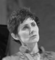 Author photo. Em Baker, 2007.