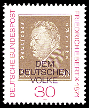 Author photo. Deutsche Post / Wikimedia Commons