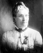 Author photo. Susa Young Gates, ca. 1900 (from the George Grantham Bain Collection at the Library of Congress)