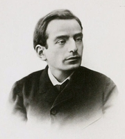 Author photo. Image from <b><i>English Studies</i></b> (1896) by James Darmesteter