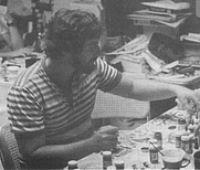 Author photo. Ross Babcock at GenCon 1988